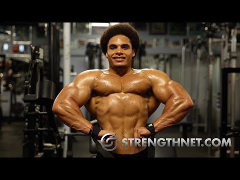 Natural Bodybuilder Shawndelle Seaberry Trains Back and Arms 1 Week Out from 2015 Mr Connecticut