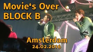 Block B - Movie's Over - Fancam Amsterdam 24/02/2017