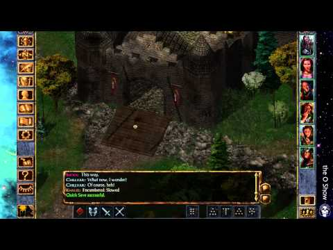 the O Show | my stream is as clean as an elven arse | Baldur's Gate: EE - 1 / 2
