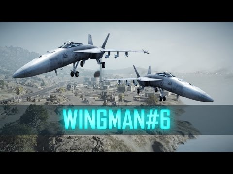 KHARG ISLAND - WINGMAN#6 ► Battlefield 3 Jet Gameplay