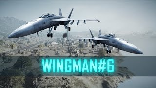 KHARG ISLAND - WINGMAN#6 ► Battlefield 3 Jet Gameplay