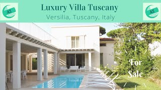 Luxury Villa with Pool Tuscany Versilia | AZ Italian Properties | Property for Sale Italy |