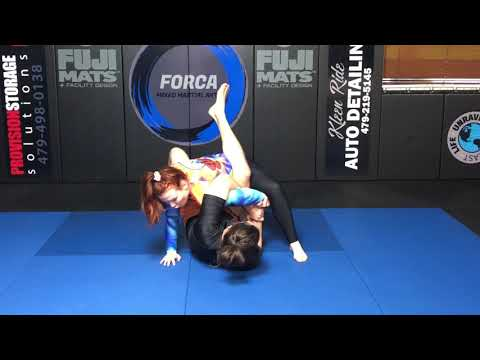 Block Six - Youth and Teen Intermediate Grappling Techniques
