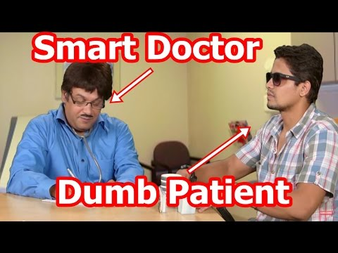 Smart Doctor And Dumb Patient - Doctor Patient Jokes - Suresh Menon Comedy - ComedyOne