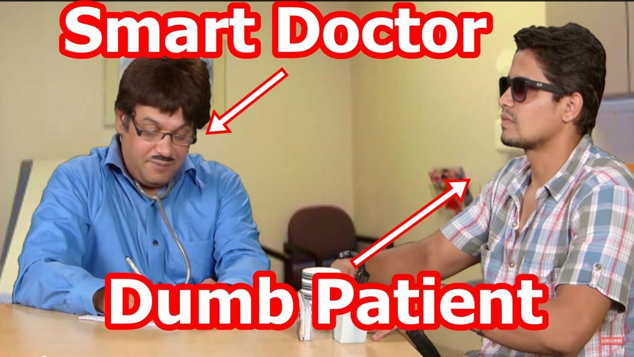 Smart Doctor and Dumb Patient - Doctor Patient Jokes - Suresh Menon Comedy - ComedyOne