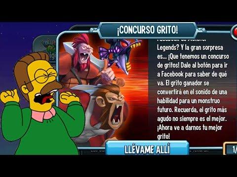 LOS GRITOS DE MAKOTO SCREAM CONTEST !! Monster Legends