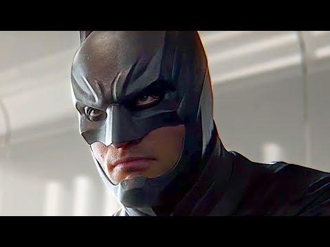 Joker Gets Batman Arrested By Evil Justice League Scene - Injustice