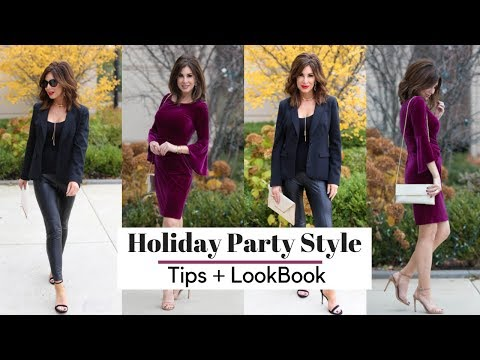 2a14e689358f Holiday Outfit Style Tips | Christmas 2018 - YouTube