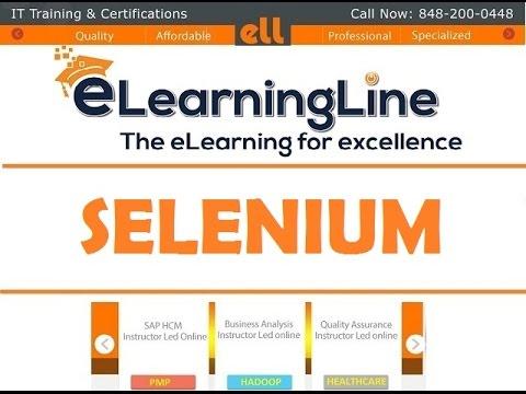 Selenium testing by ELearningLine @ 848-200-0448