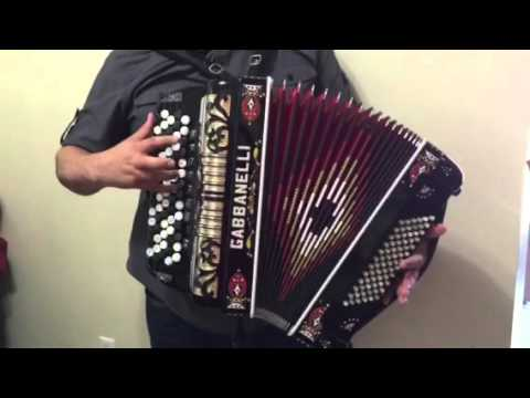 gabbanelli chromatic accordion c system 9 switch youtube. Black Bedroom Furniture Sets. Home Design Ideas