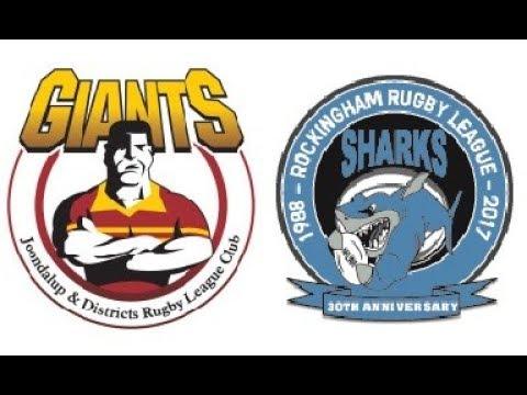 NRL WA 2017 Premiership Round 6 - Giants v Sharks