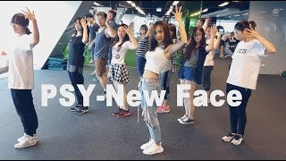 PSY-New face | 舞蹈&數拍教學-3 到副歌完後 | Chueh minnie (mirrored)