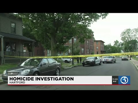 VIDEO: Two charged in connection with weekend Hartford homicide