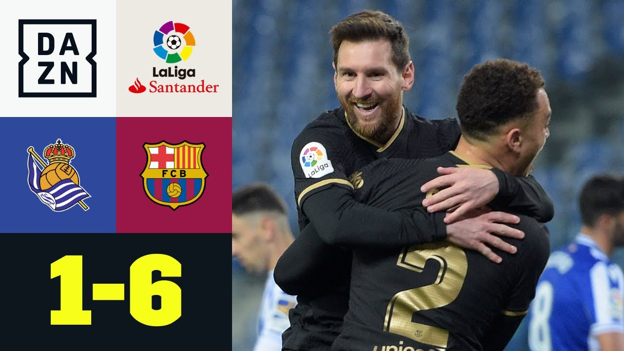 Simply the Dest! Barca-Gala gegen San Sebastian: Real Sociedad - FC Barcelona 1:6   LaLiga   DAZN