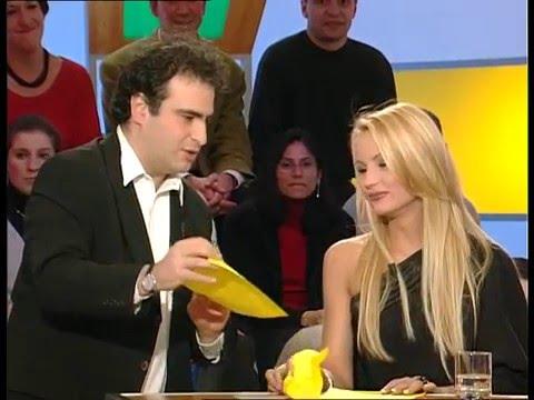 Elodie Gossuin, Frédéric François, Les danses tahitiennes - On a tout essayé - 14/12/2001
