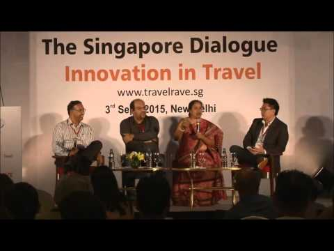 Singapore and India @ TiE Travel SIG - The Singapore Dialogue