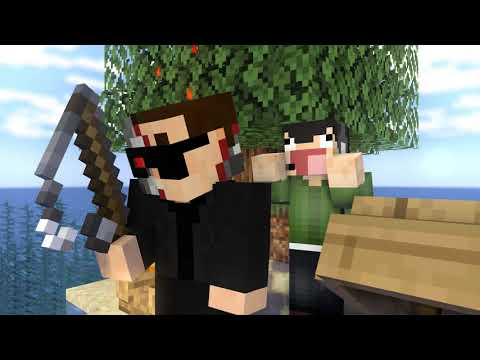 LOST In The Middle Of SEA! - Nogla & Friends MINECRAFT Animation