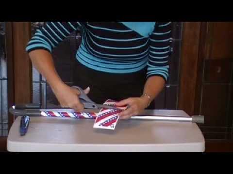 How To Decorate A Cane Fascinating Blingtogo Crutch Skins™ Cane Demom4V  Youtube Design Ideas