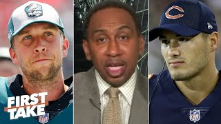 Nick Foles will replace Mitchell Trubisky as the Bears' starting QB - Stephen A. | First Take