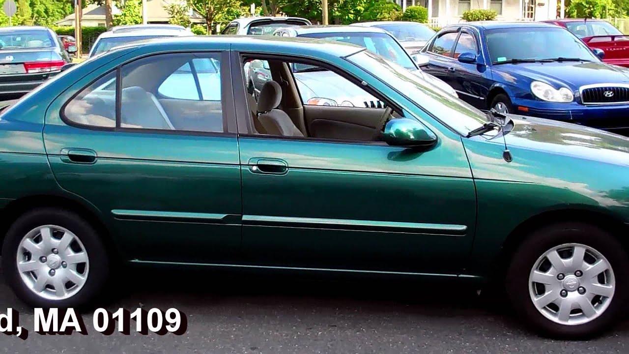 2000 Nissan Sentra GXE SEDAN 4DR 1.8L 4CYL AT