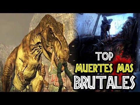 Download Youtube: TOP 10: MUERTES MÁS BRUTALES DE JURASSIC PARK [1993-2015]