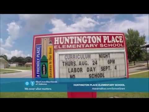 2017 - 2018 Be Healthy School Grant Recipient: #Huntington Place Elementary School#