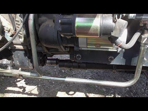 Развалился привод переднего моста на  Мине Тракторе