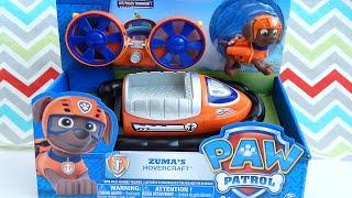 Paw Patrol ZUMA with Hovercraft Toy Unboxing with Pinkie Pie