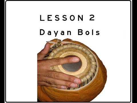 Khol (Mridanga) Lesson 02 Part 1 of 2: Dayan Bols