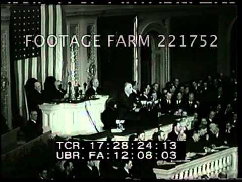 1941, Roosevelt: Lend-Lease Excerpt 221752-47 | Footage Farm
