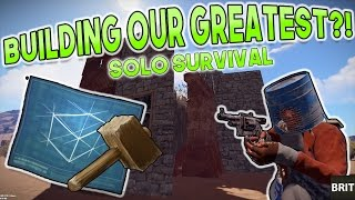 BUILDING THE BEST SOLO BASE?! | Rust SOLO SURVIVAL Gameplay | Season 6 - Episode 3