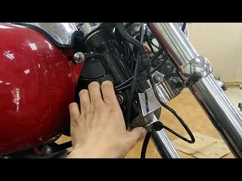 Замена руля на мотоцикле