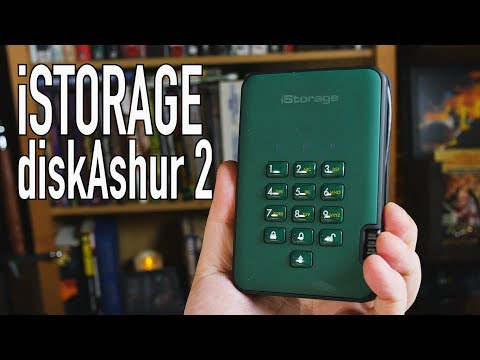 The Fort Knox of Portable Hard Drives | iStorage diskAshur 2