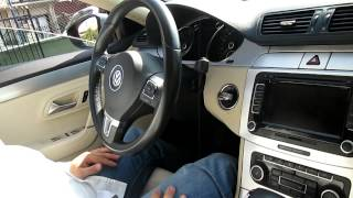 VW Passat CC 2.0 TDI fastback 2010 - Test