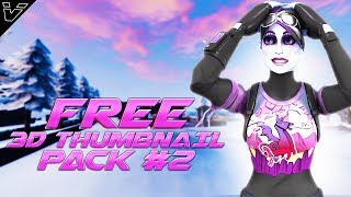 KOSTENLOSE 3D FORTNITE THUMBNAIL PACK DOWNLOAD #2 (LINKS IN DES)