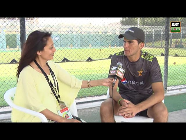 Shaheen Shah Afridi talks about his journey from U 19 to Pakistan team