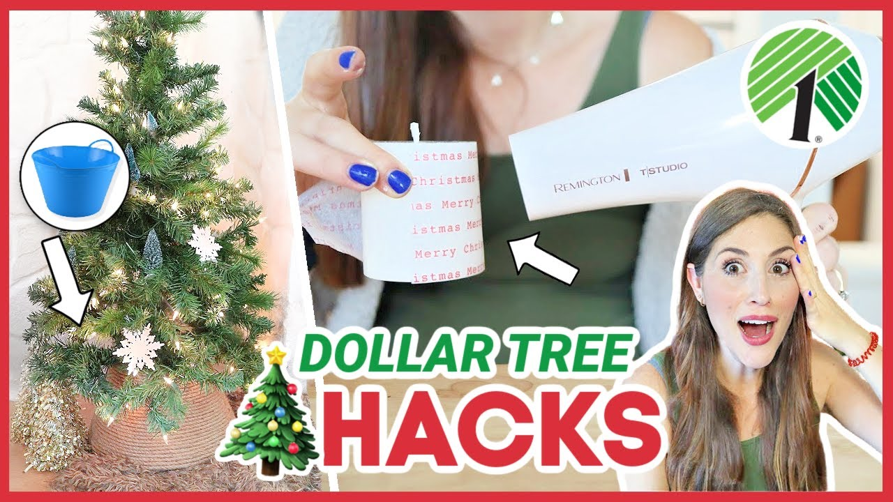 DOLLAR TREE CHRISTMAS HACKS 🤯 That Will Blow Your Mind