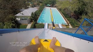"Skid Across Water! ""Everglides"" POV Adventure Island (Tampa Bay, FL)"