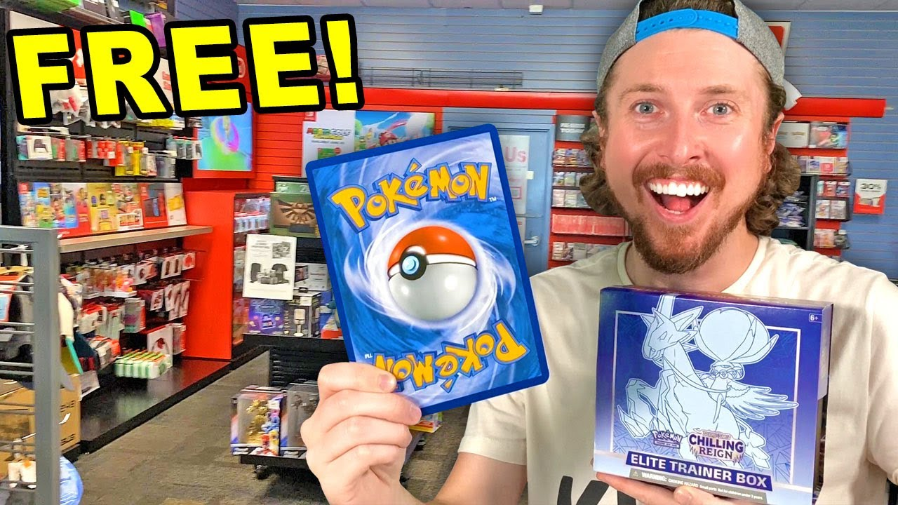 Download How I Got a FREE Pokemon Card at Gamestop During a Chilling Reign Shopping Trip!