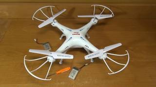 квадрокоптер SYMA X5SC с камерой 2 МП, Headless Mode и двумя аккумуляторами
