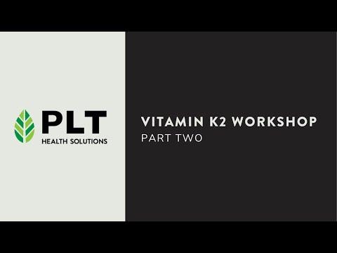 Vitamin K2 Workshop - Part 2 (Schurgers & Maresz)