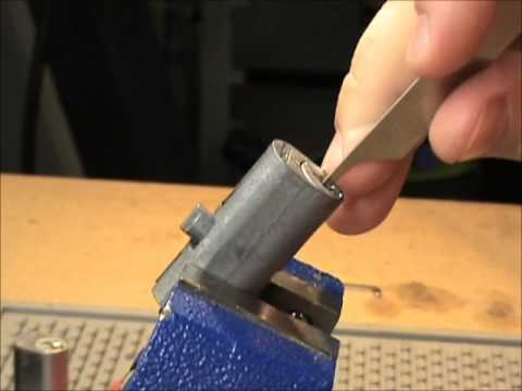 File Cabinet Lock Picked and Bypassed - YouTube