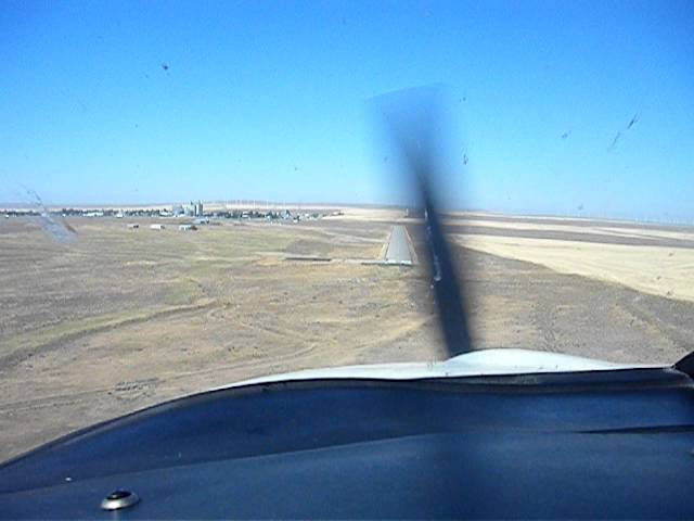 Condon State Pauling Field Airport (3S9) Landing Rwy 25