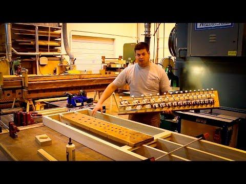 AOI Organ Shop – Building a windchest