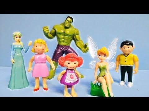 يوميات عائلة مريم و تنكر بيل حتحول بابا هالك و ماما فروزن kids toys