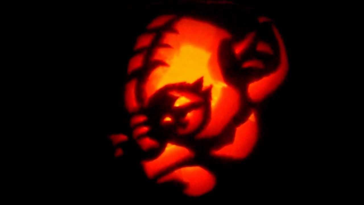 Yoda star wars pumpkin carving youtube