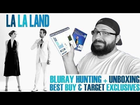 Bluray Hunting: La La Land Best Buy Exclusive Steelbook & Target Exclusive + Unboxings | BLURAY DAN