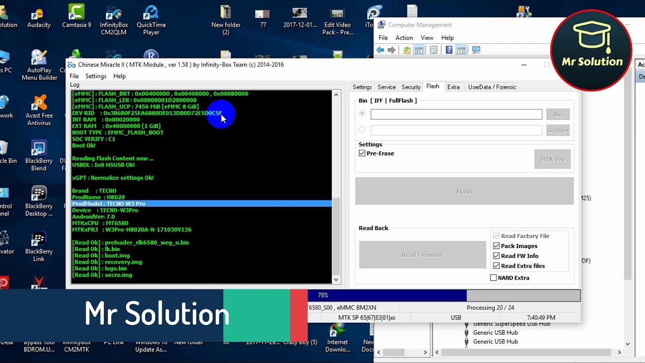 TECNO W3 Pro Flash File/firmware Free Download