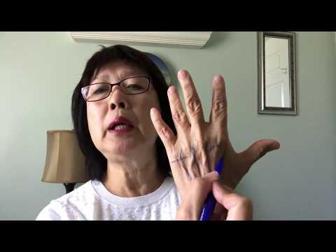 Stiff Back Relief -  Hand Reflexology Tip