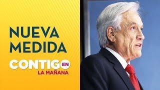 Presidente Piñera anunció suspensión de alza a tarifa del Metro de Santiago - Contigo en La Mañana